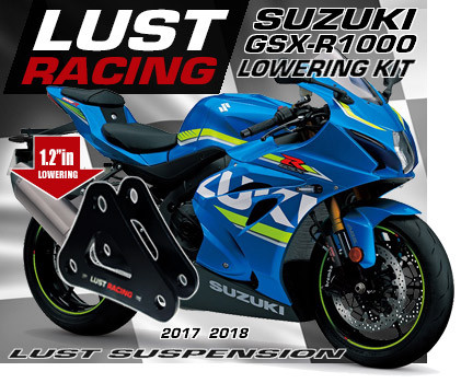 2017-2018 Suzuki GSXR1000 lowering kit L7 L8