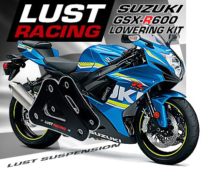 Suzuki GSXR600 lowering kit L1-L9 2011 to 2019