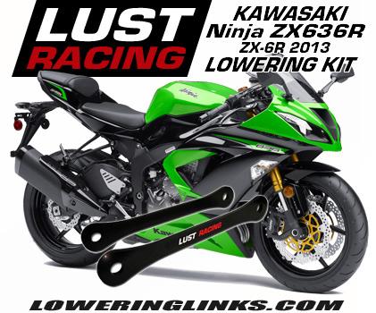 2013 - 2018 Kawasaki ZX6R Ninja 636 lowering kit
