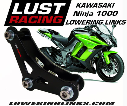 2011-2016 Kawasaki Ninja 1000 lowering links 1.2