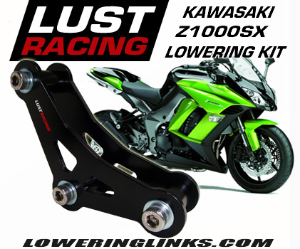 Kawasaki Z1000SX lowering links