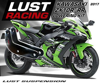 2016-2018 Kawasaki Ninja ZX10R ZX10RR lowering kit