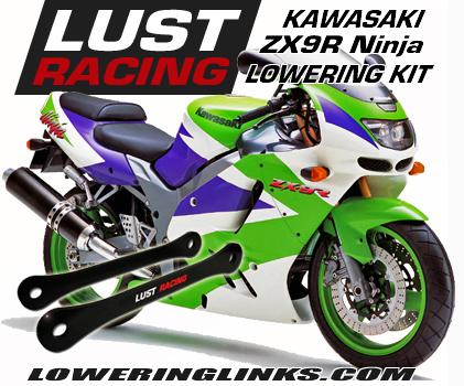 Kawasaki ZX-9R Ninja 1 inch lowering links B1 B2 B3 B4 1994-1997