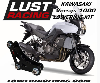 Kawasaki Versys 1000 lowering links 1.2