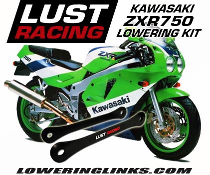Kawasaki ZXR750 Lowering kit 1.57
